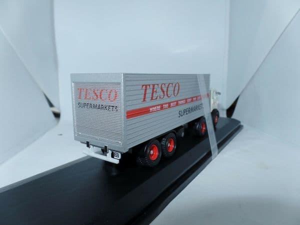 Oxford 76LO001 LO00 SP100 1/76 OO  Leyland Beaver Box Trailer Tesco Supermarkets Tesco Outer